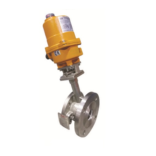 Electrical Actuator Operated  Flush Bottom Reduce Bore Ball Valves