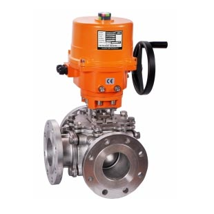 Motorized Multi Way Ball Valves