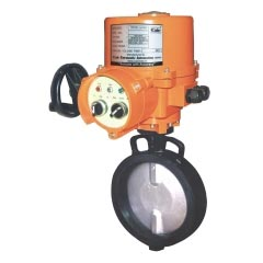 Motorized Rubber Lined Butterfly Valves
