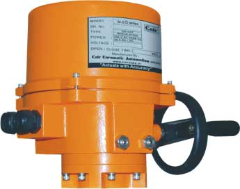 Single Phase Quarter Turn Electrical Actuator
