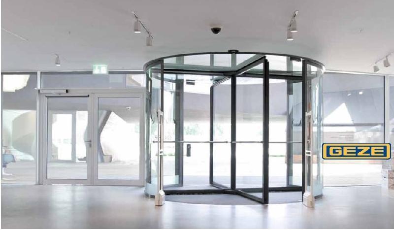 Geze Automatic Revolving Door  sc 1 st  AL Aton Trading LLC & Geze Automatic Revolving Door Exporter Supplier in Oman