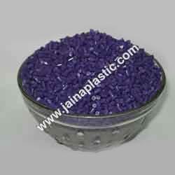 ABS Violet Plastic Granules
