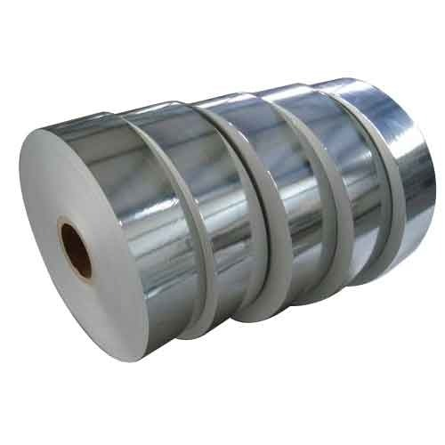 Silver Laminated Paper Rolls