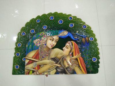 Radha Krishna Mural 01