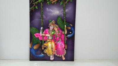 Radha Krishna Mural 02