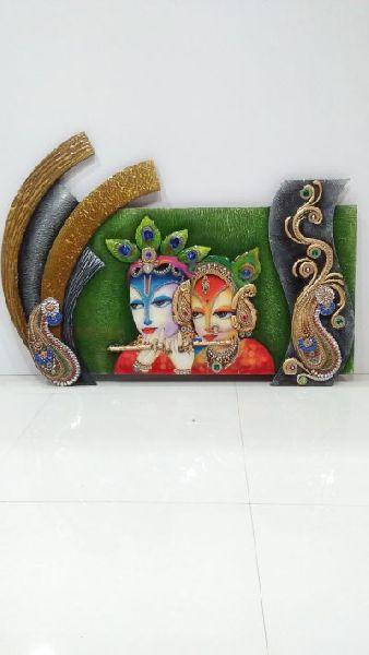 Radha Krishna Mural 03