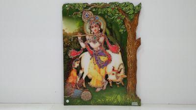 Radha Krishna Mural 04