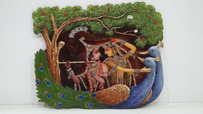 Radha Krishna Mural 05