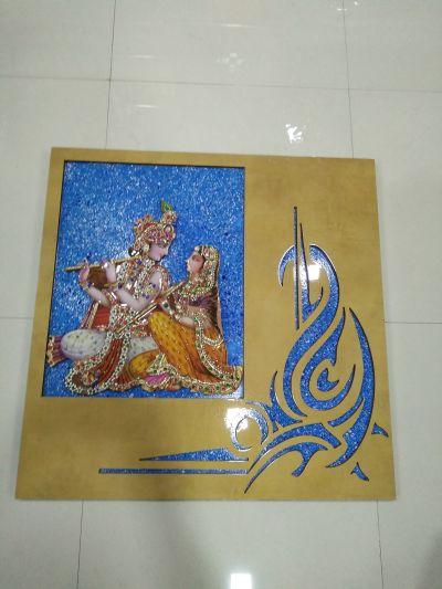 Radha Krishna Mural 07