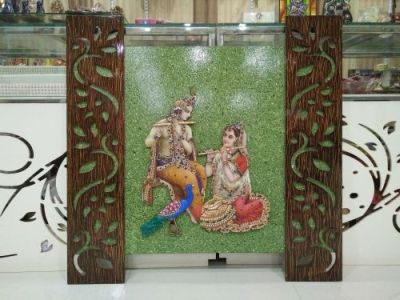 Radha Krishna Mural 08