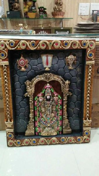 Tirupati Balaji Mural 01