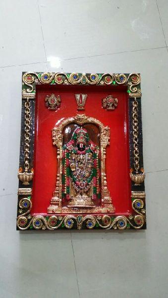 Tirupati Balaji Mural 02