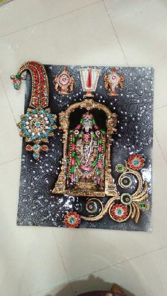 Tirupati Balaji Mural 03