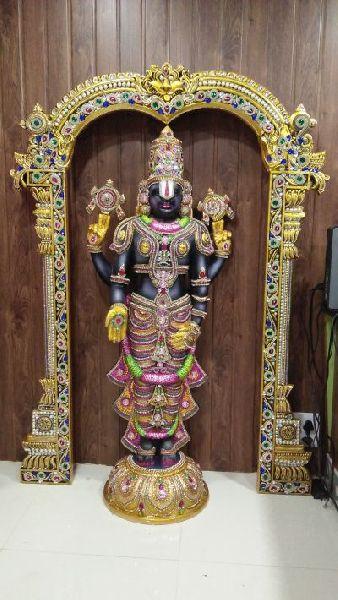 Tirupati Balaji Mural 04