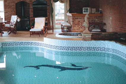 Ceramic Swimming Pool Mosaic Tiles 05
