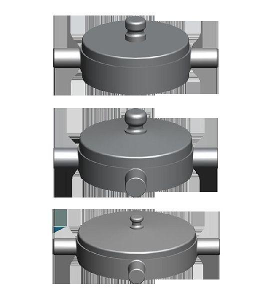Aluminium Fire Hydrant Blank Cap Set