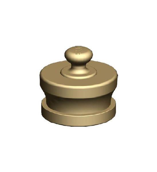 Gunmetal Male Knob Type Fire Hydrant Blank Caps