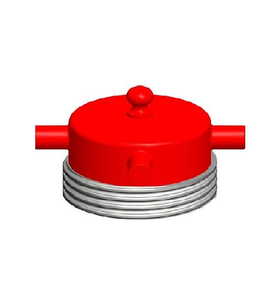 Stainless Steel Male Round Threaded Fire Hydrant Blank Caps
