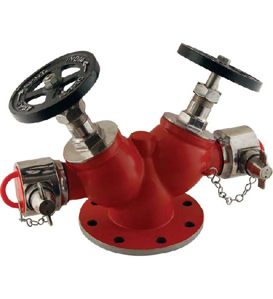 Stainless Steel Double Outlet Hydrant Valve
