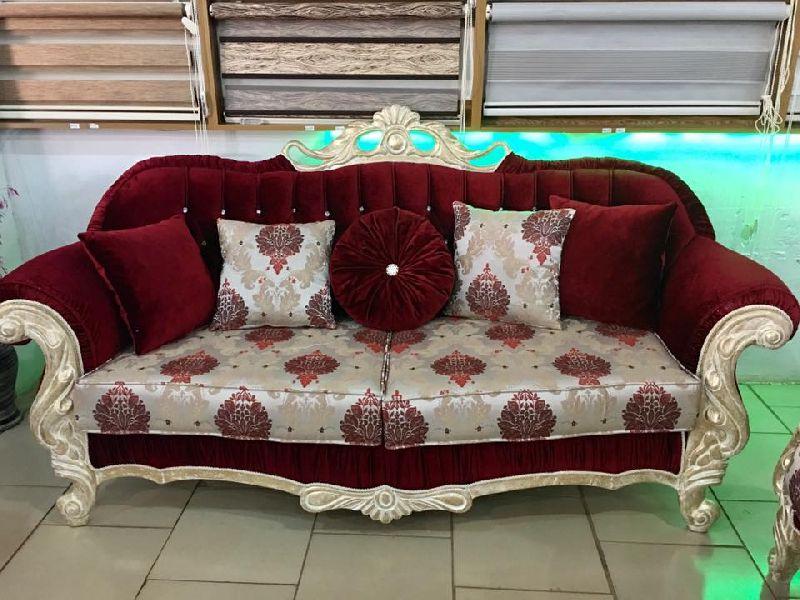 Wooden Luxury Sofa 02