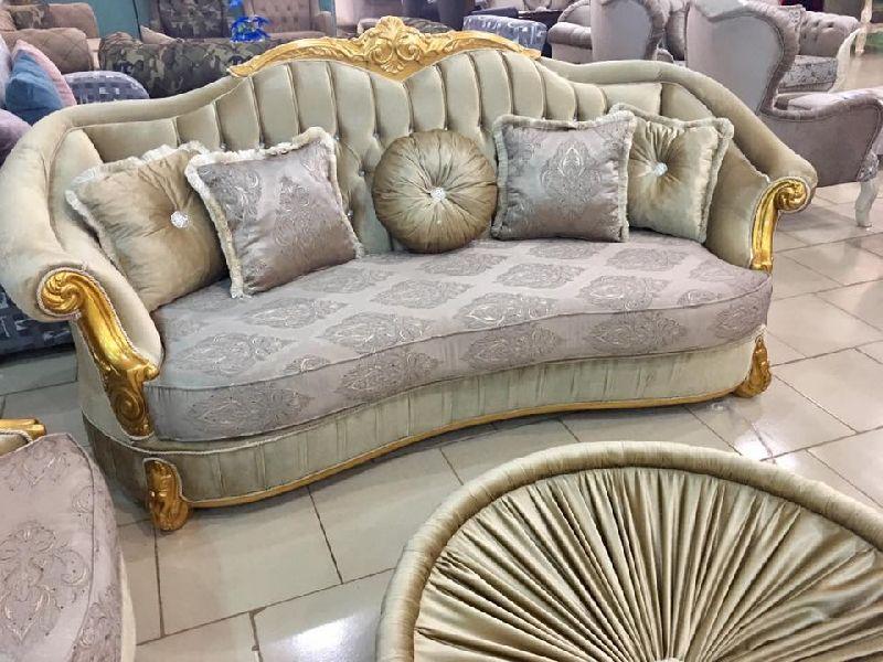 Wooden Luxury Sofa 03