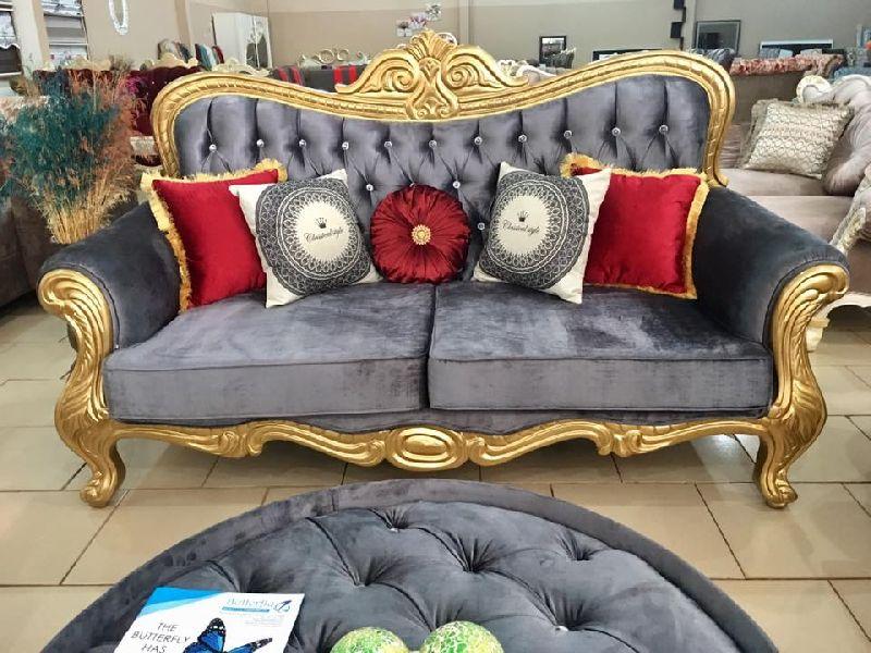 Wooden Luxury Sofa 04