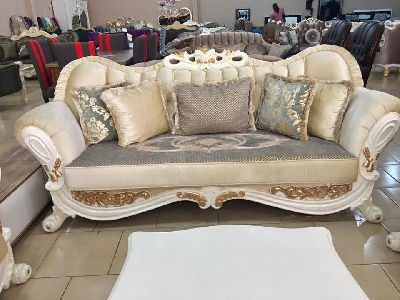 Wooden Luxury Sofa 05