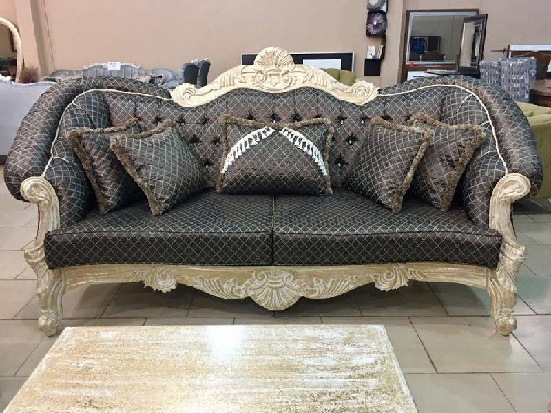 Wooden Luxury Sofa 06