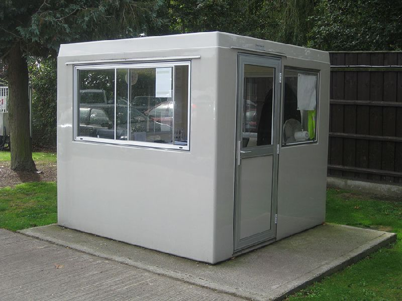Prefabricated Portable Security Cabin 01