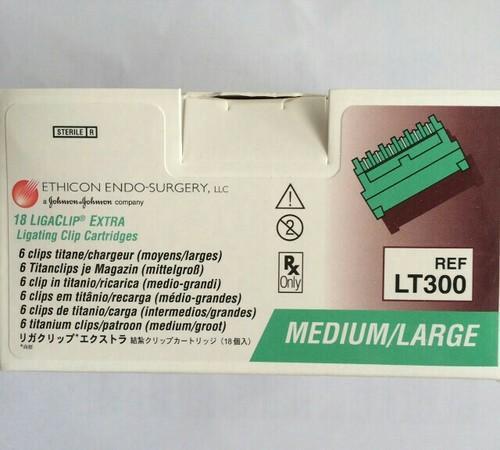 Ethicon Endo Surgery Ligaclip Extra 300 Clips
