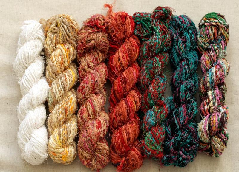 Recycled Cotton Yarn 01