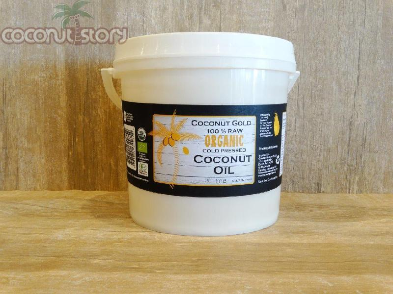 Organic Cold Pressed Coconut Oil (4 Ltr.)