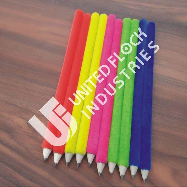 Nylon Precision Cut Bright Flock Fibre For Pencil 01
