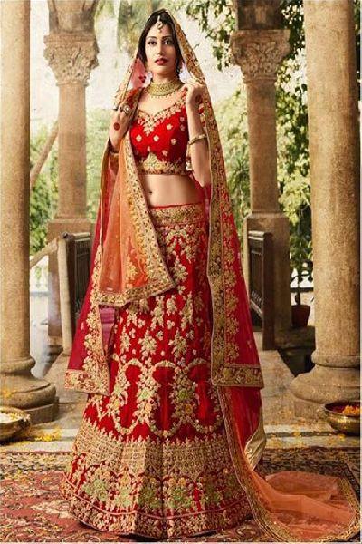 Bridal Lehenga Choli 02