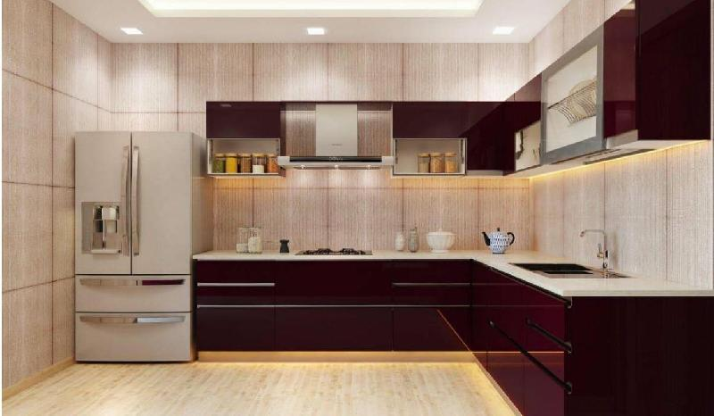 3D Kitchen Interior Designing in Delhi India