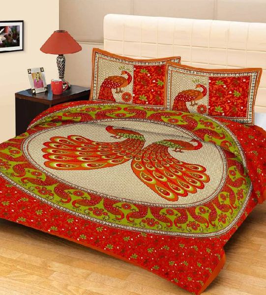 3D Bed Sheet Set 01