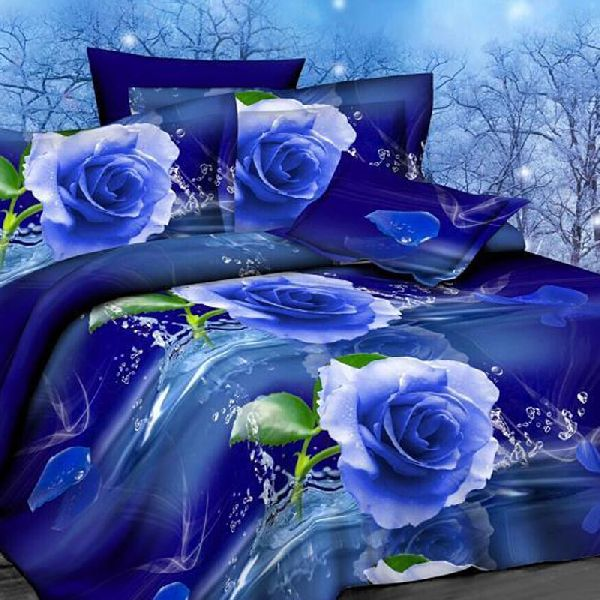 3D Bed Sheet Set 02