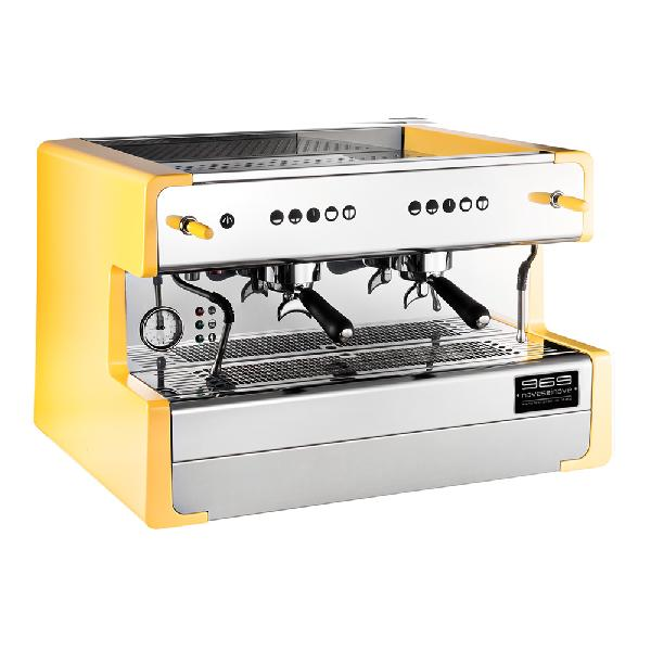 LED Color Espresso Coffee Machine