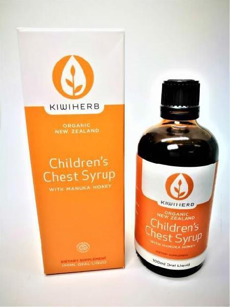 100ml Kiwiherb Children's Chest Syrup