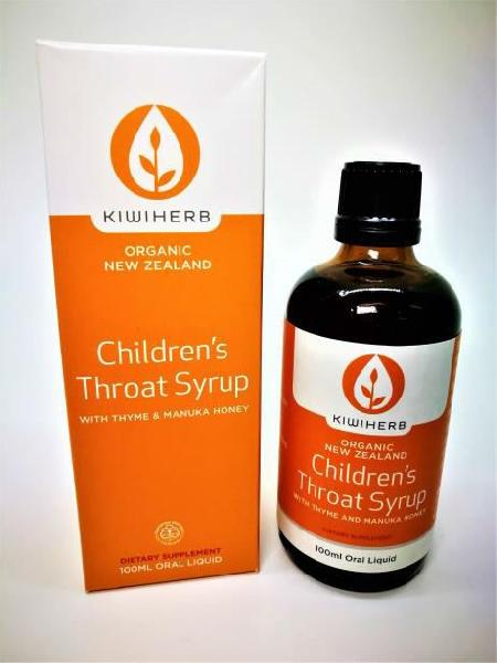 100ml Kiwiherb Children's Throat Syrup