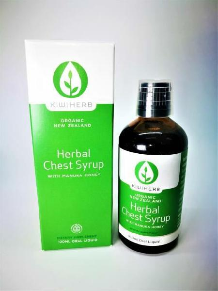 100ml Kiwiherb Herbal Chest Syrup