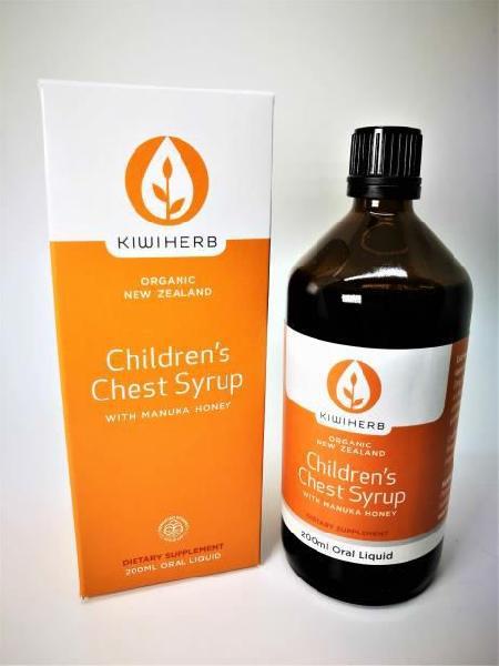 200ml Kiwiherb Children's Chest Syrup