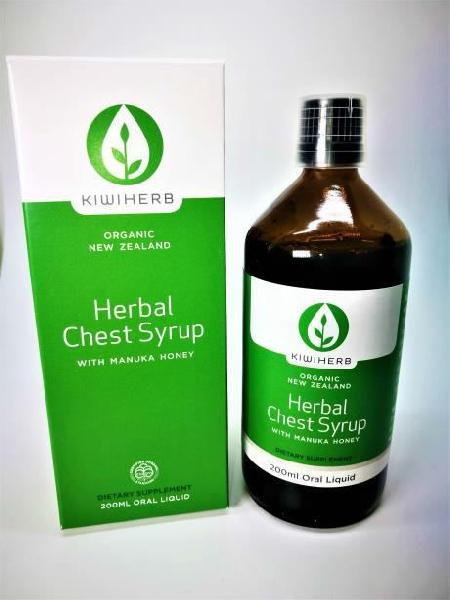 200ml Kiwiherb Herbal Chest Syrup