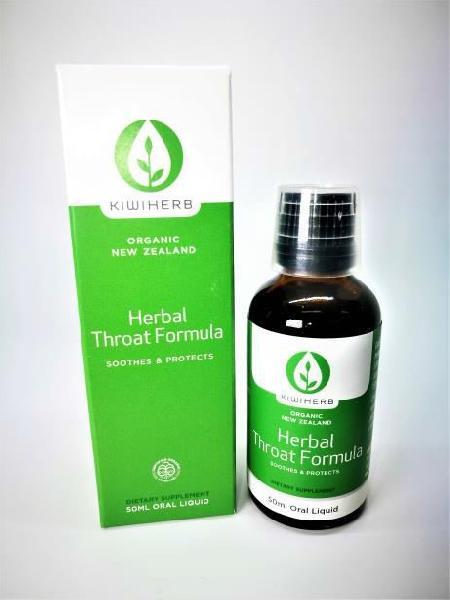 50ml Kiwiherb Herbal Throat Formula Syrup