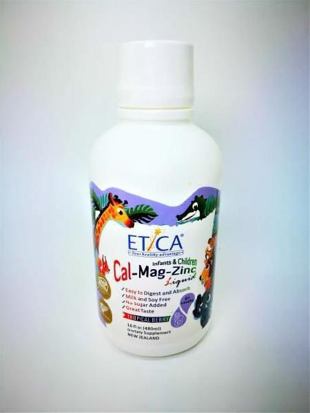 ETICA Infants & Children Cal-Mag-Zinc Liquid
