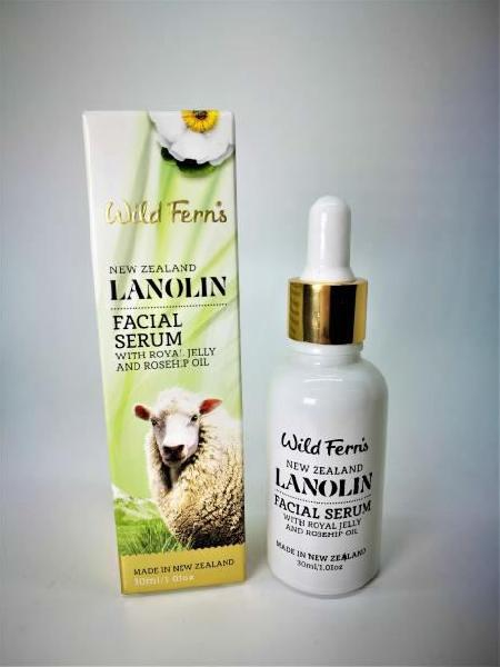 Wild Ferns Lanolin Facial Serum