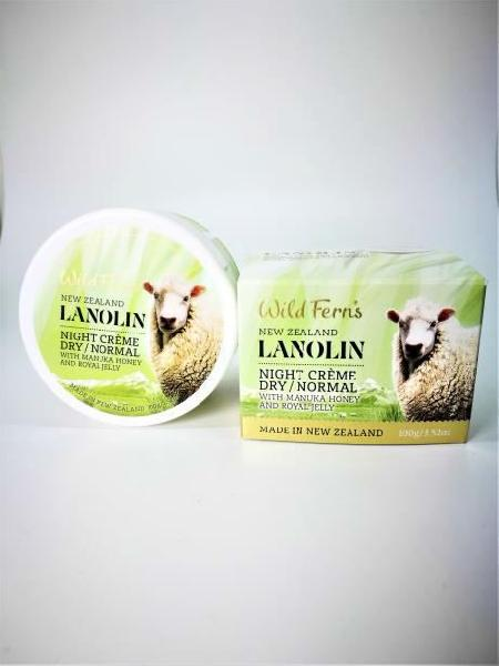 Wild Ferns Manuka Honey & Royal Jelly Lanolin Night Creme