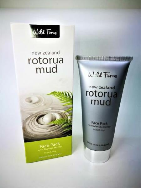 Wild Ferns Rotorua Mud Face Pack