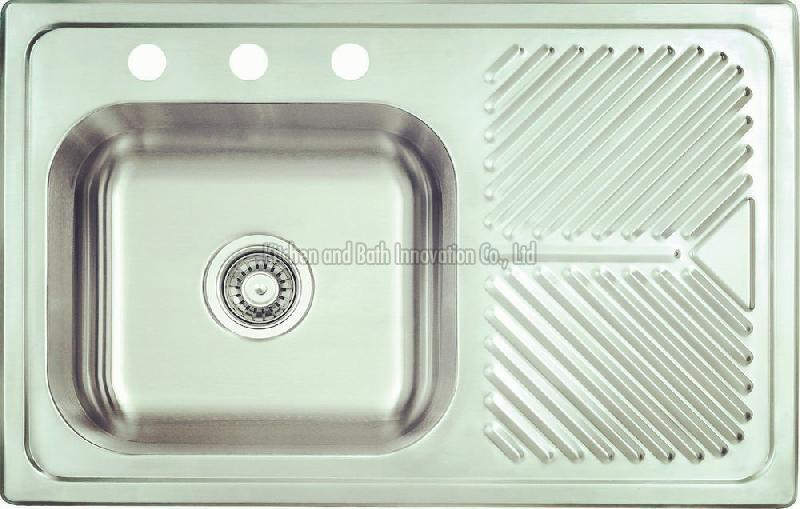 KBEB8052 Stainless Steel One Bowl One Drain Sink