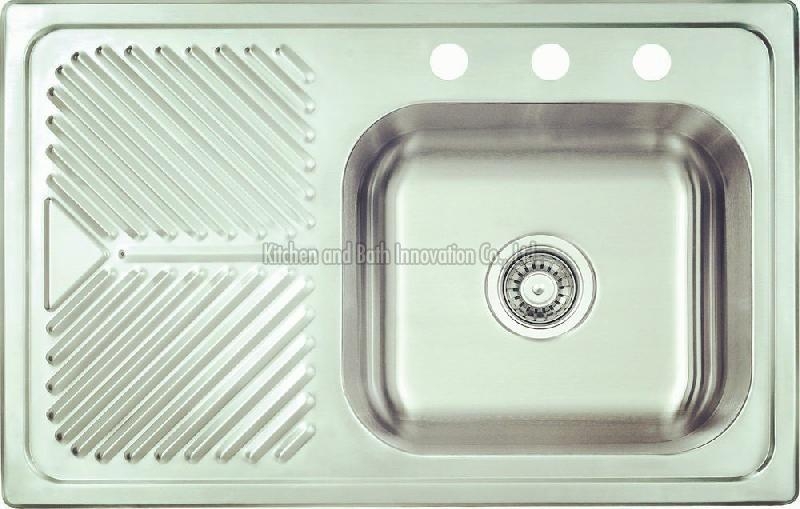 KBEB8052R Stainless Steel One Bowl One Drain Sink